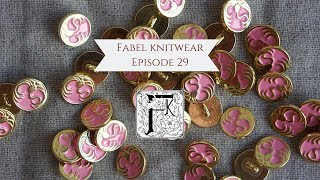 Fabel Knitwear Episode 29 - A Failed Design, KAL Winner Announcement, and New Nymphaea Button!