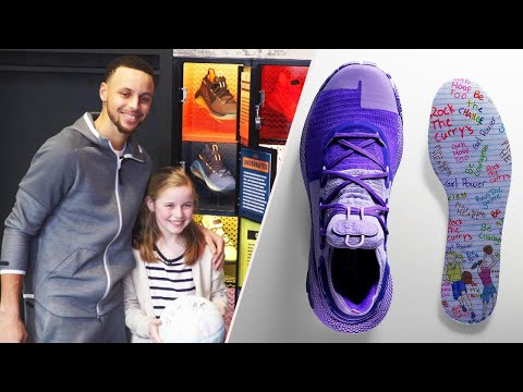 9-Year-Old Fan Designs Steph Curry's