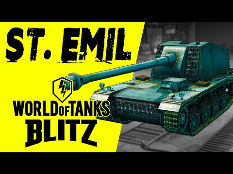 Как играть на St. Emil World Of Tanks Blitz