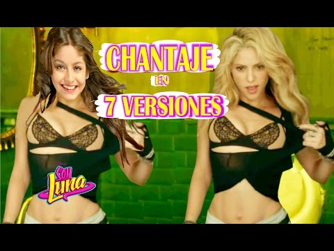 Shakira - Chantaje en 7 Estilos Musicales 🎤 7 NUEVAS VERSIONES de CHANTAJE | Maluma y Shakira