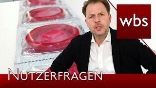 Nutzerfragen: Benutze Kondome zurücklegen = Diebstahl? | Rechtsanwalt Christian Solmecke