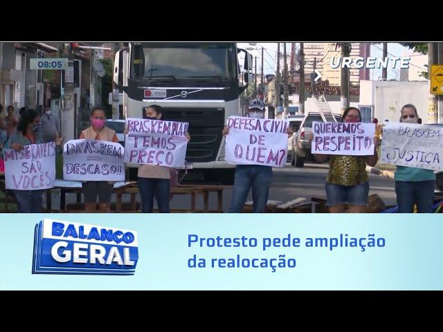 Hoje: Protesto na Rua General Hermes pede ampliação da realocação