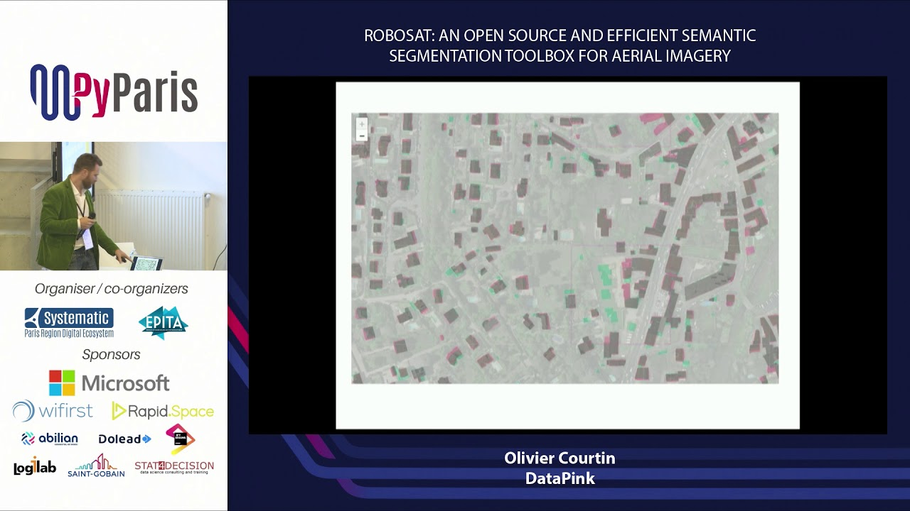 Image from Robosat: an Open Source and efficient Semantic Segmentation Toolbox for Aerial Imagery