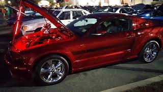 2007 RED FIRE FORD MUSTANG GT CALIFORNIA SPECIAL '007GTCS'