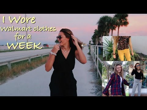 I wore cheap for the money clothes for a week! | Emma Marie
