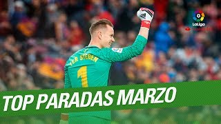 TOP Paradas Marzo LaLiga Santander 2017/2018