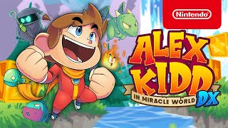 Alex Kidd in Miracle World DX - Launch Trailer - Nintendo Switch