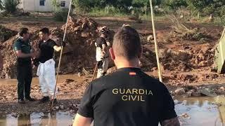 Dispositivo de búsqueda tras la inundaciones en Sant Llorenç (Mallorca)