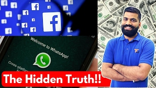 How do Facebook and Whatsapp Make Money? The Hidden Truth?