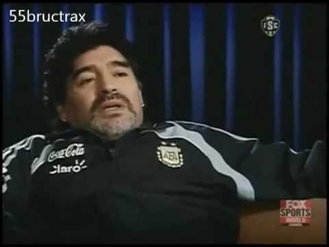 Go Maradona In Pele Might Have Been Better Than Me