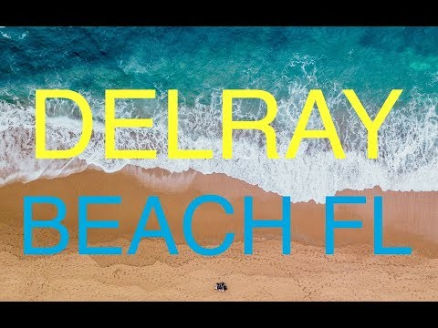 DOWNTOWN DELRAY BEACH FL OCEANFRONT RESTAURANTS HOTELS, VISITOR CENTER