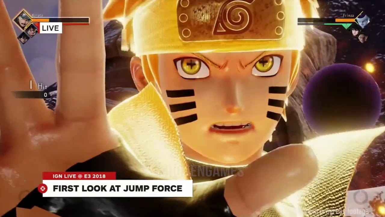 Jump Force Gameplay 10 Minutes Brand New Shonen Jump Crossover Game