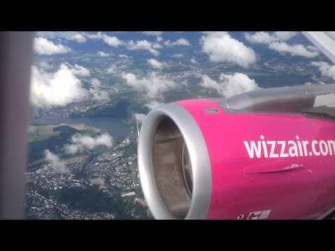 Wizz Air Dortmund-Skopje *Full flight*