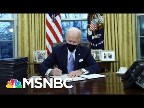 Biden Gets To Work Undoing Trump Policies After Inauguration | The 11th Hour | MSNBC