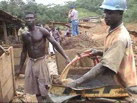 Ghana - gold mine Tarkwa