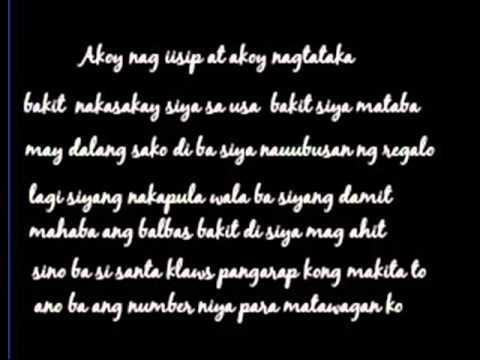 Santa Klaws by Paranaque Rebels (Lyrics)