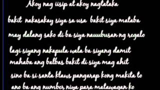 Repeat youtube video Santa Klaws by Paranaque Rebels (Lyrics)