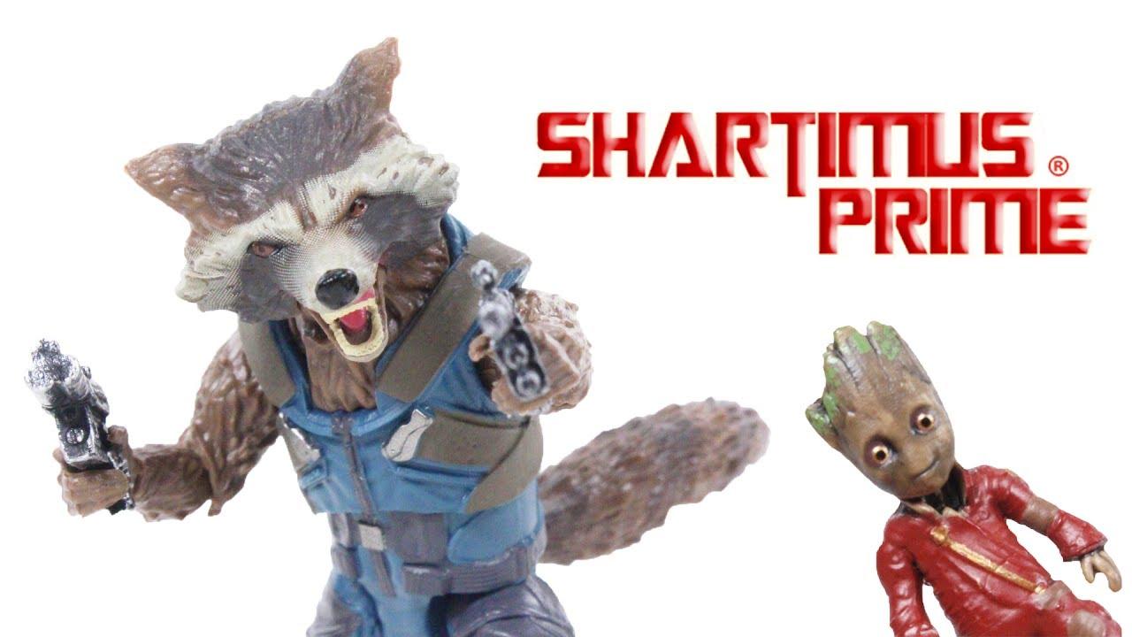 Marvel Infinite Series Guardians of the Galaxy ROCKET RACCOON Figure Loose