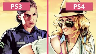 Grand Theft Auto 5 / GTA 5 – PS3 vs. PS4 Graphics Comparison [FullHD]