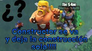 Bug de Clash of Clans Constructor maestro se va de mi aldea |Clash of Clans|