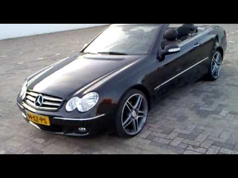 mercedes clk cabrio youtube. Black Bedroom Furniture Sets. Home Design Ideas