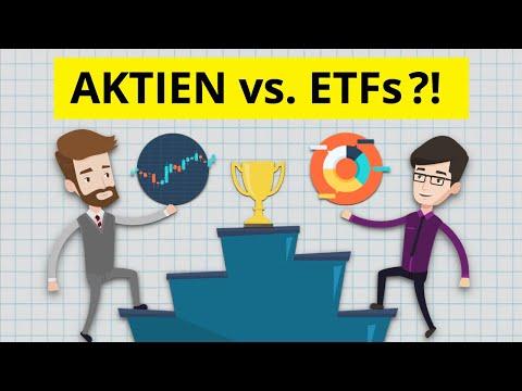 Was ist die bessere Geldanlage: Aktien oder ETFs kaufen?