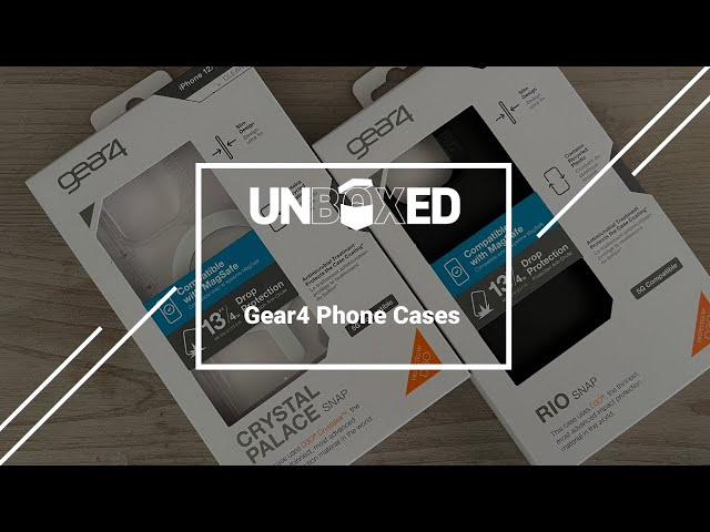 UNBOXED: Gear4 Phone Cases