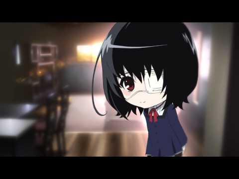 Another (Anime): Misaki Mei -  Shizuka ni: Flash animation.