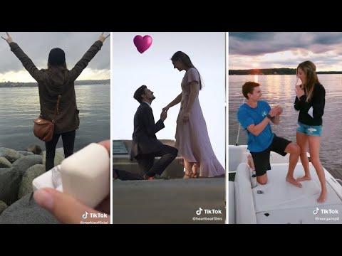 TikTok Surprise Proposal Compilation | Will You Marry Me TikTok
