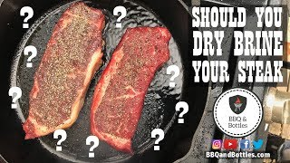 Steak Experiments - Should You Dry Brine Your Steaks (S1.E5)