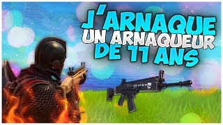 I ARNAQUE A SCAMOR of 11 YEARS it INSULTE On FORTNITE SAUVER THE WORLD