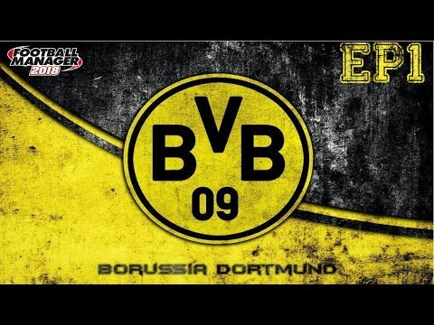 FM18 Lets Play Ep1 Borussia Dortmund  Germany super cup against Bayern Munich
