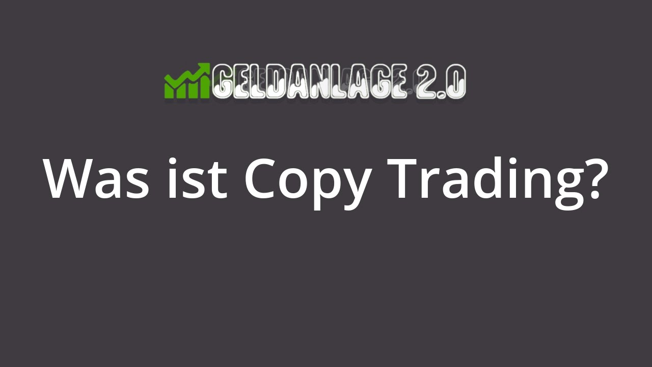was ist copy trading