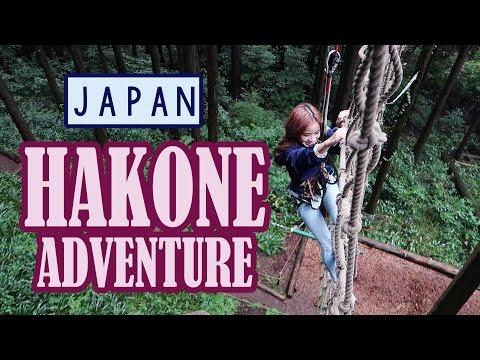 2 Days in Hakone Adventure   JAPAN Outdoor Activities   KimDao in JAPAN