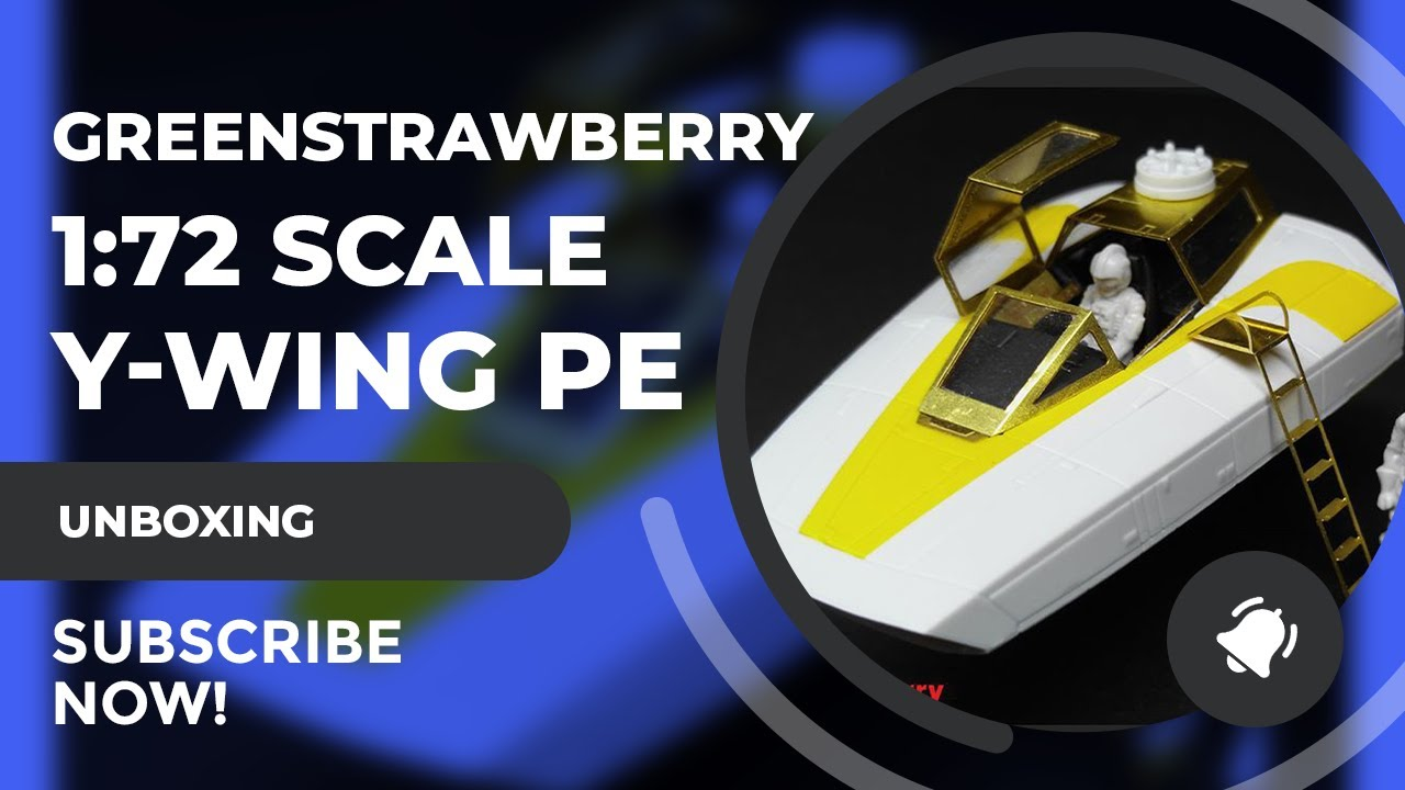 Greenstrawberry 1:72 PE SET Review Bandai Y Wing