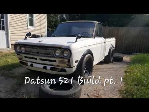 RB25 Datsun 521 Drift Build PT.1. (Carbonfiber?!)