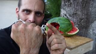 Bone Breaker Self-Defense Keychain Organic Medium Testing & Instructional