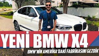 BMW X4 Testi | BMW'nin Amerika'daki Fabrikasını Gezdik