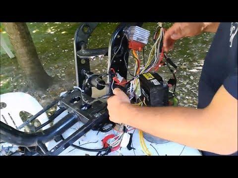 Schema Elettrico Zip : Test impianto elettrico modificato su zip sp mk youtube