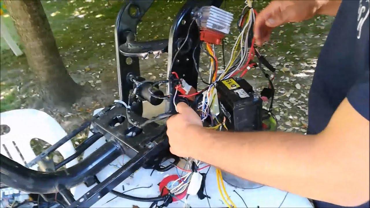 Schema Elettrico Zip : Tutorial modificare impianto elettrico zip sp mk per blocco