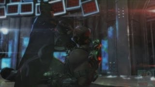 Batman: Arkham Origins - TN-1 Bane Boss Fight