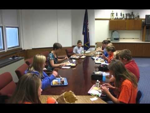 NJHS Lunch with Lindsay Flynn