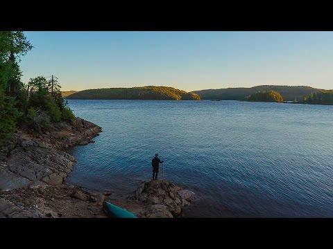 Exploring Quebec - Canoe camping in Outaouais