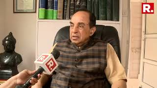 BJP MP Subramanian Swamy Reacts To BJP Backing Out From Forming Maharashtra Government