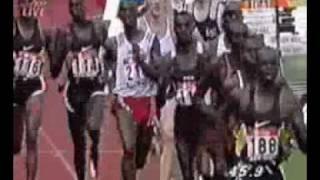 Wilson Kipketer 1:41,11 800m - Cologne 24/08/1997