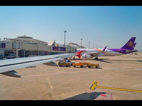 Thai airasia FD3442 CNX-DMK Takeoff (เชียงใหม่-ดอนเมือง)