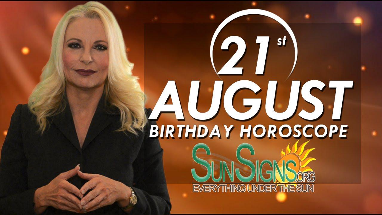 august 21st zodiac horoscope birthday personality leo