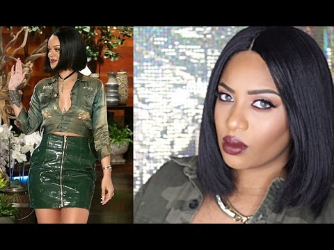 Rihanna inspired bob sensationnel empress iman wig tutorial rihanna inspired bob sensationnel empress iman wig tutorial youtube urmus Gallery