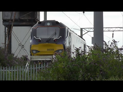Trains @ Rugby Railway Station - 13th July 2017
