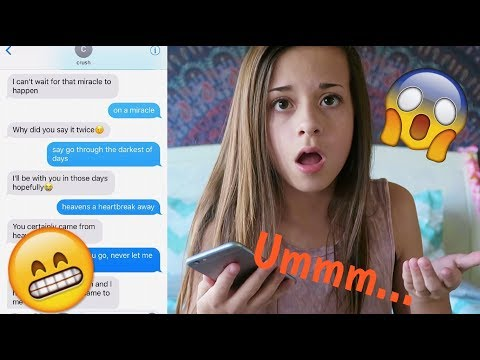 """Pranking my CRUSH with Justin Bieber's """"Let Me Love You"""" Lyrics!! *GONE SEXUAL* MUST WATCH"""